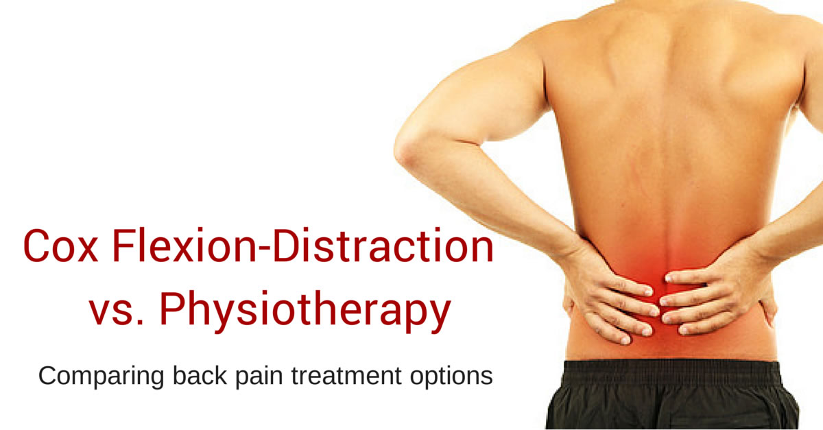 Flexion-Distraction vs Physiotherapy for Low Back Pain