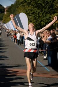 runner winning marathon_XSmall