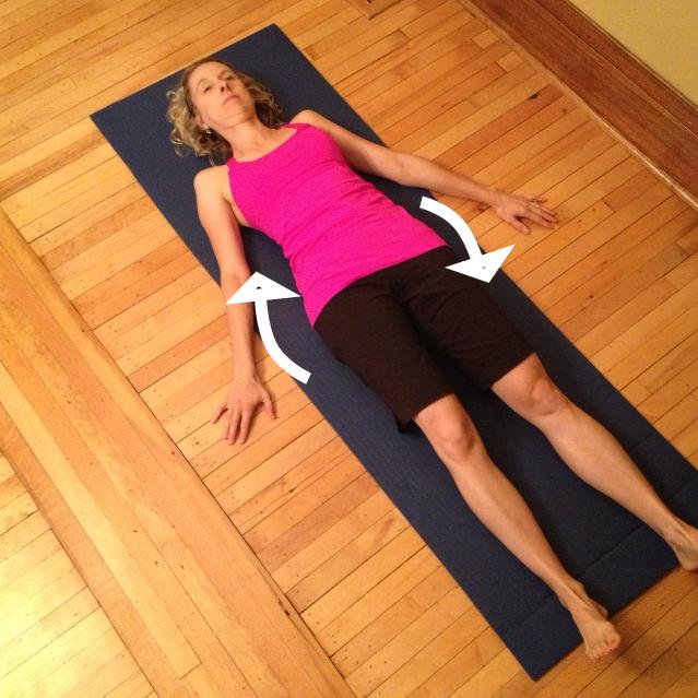 Lateral Pelvic Tilt Exercise